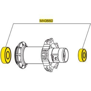 Rodamiento mavic M40660